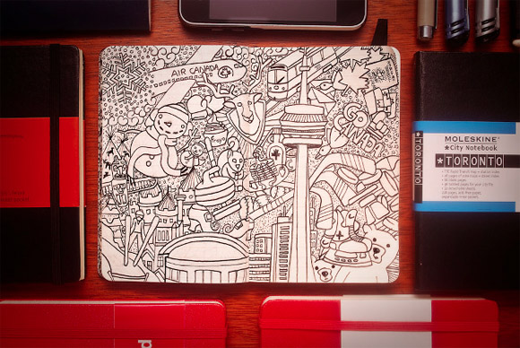 Creative Moleskine Design 3