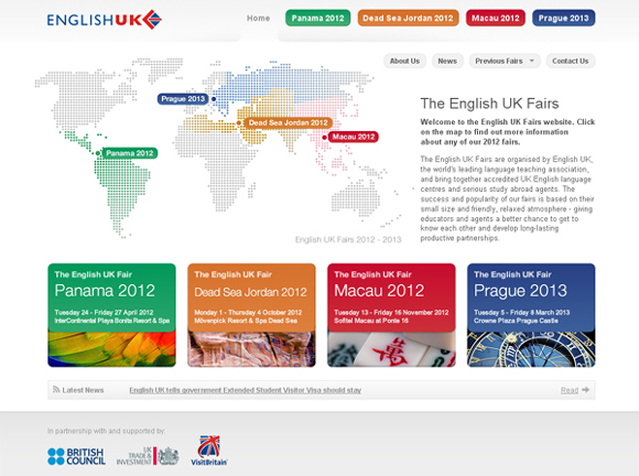 The English UK Fairs