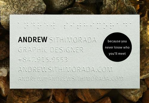 andrew sithimorada business card