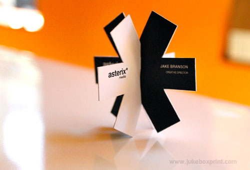 asterix business card