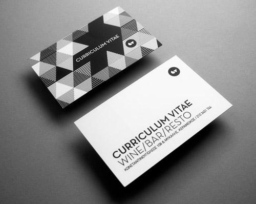 cv business card