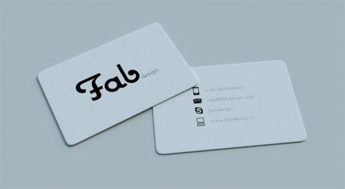 Fab Business Card