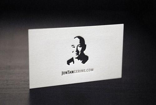 john tan gerine business card