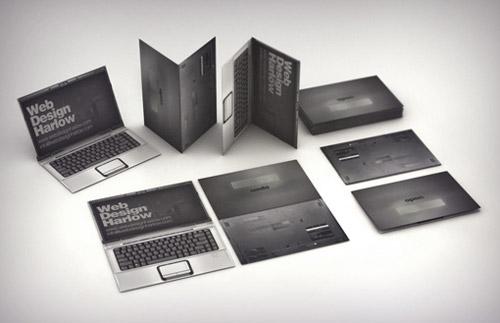 laptop business card