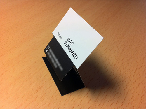 mac funamizu business card