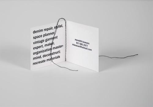 meredith beavans business card