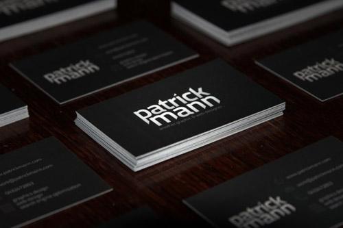 patrick mann business card