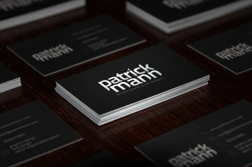 patrick mann business card
