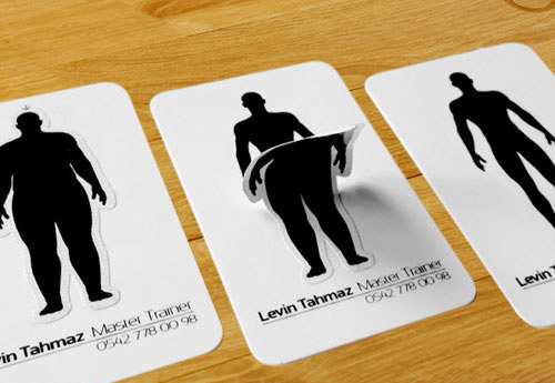 personal trainer card