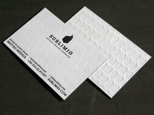 sublimio business card