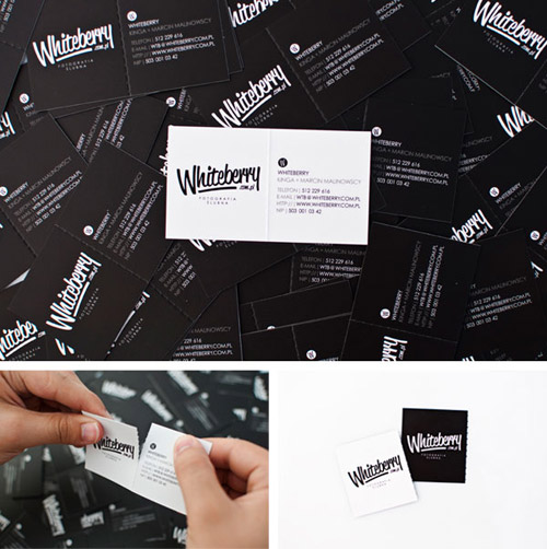 Whiteberry Business Card