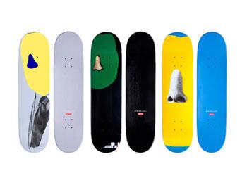 Skateboard Designs. Three Skateboard Designs Vector Image ...