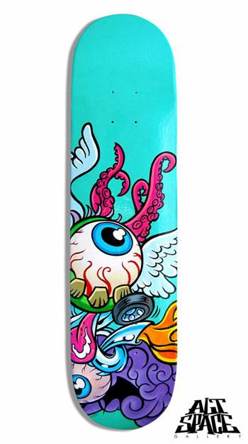 Creative and cool skateboard designs crazyleaf design blog - Skateboard dessin ...