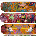 colored skateboards