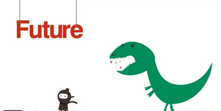 dinosaur and ninja