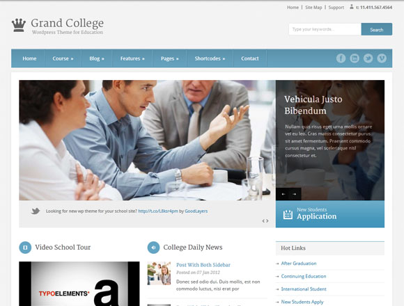 12 best education wordpress themes for educational websites for What are the best websites