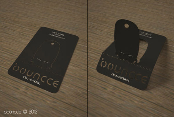 Bouncce business card