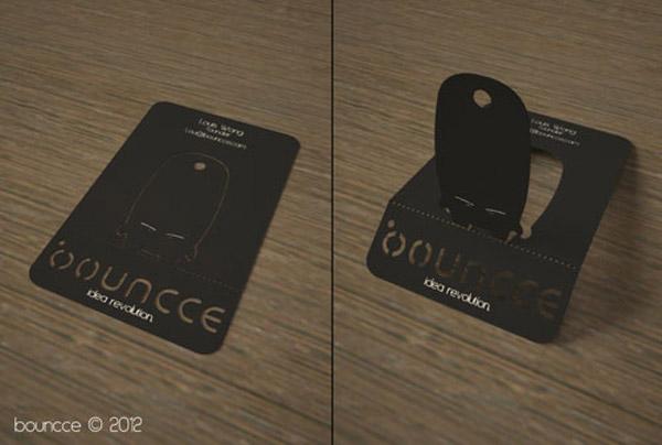 Bouncce business card