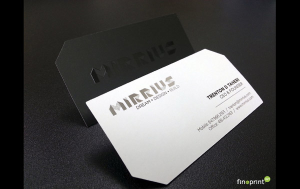 Mirrius business card
