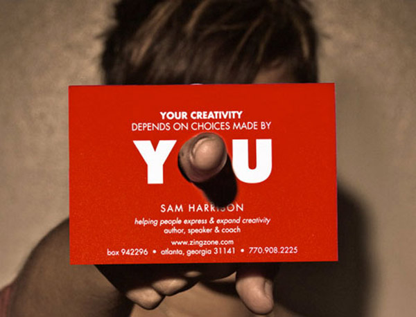 Sam Harrison business card