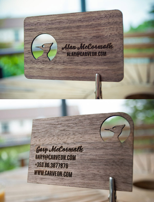 Alan McCormack business card