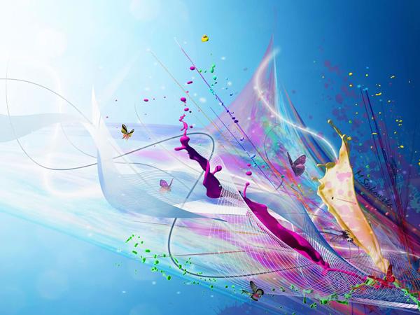 beautiful abstract