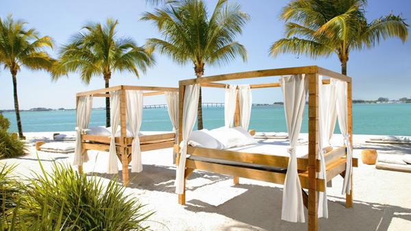 Beds on the Beach