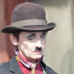 sullen Charlie Chaplin