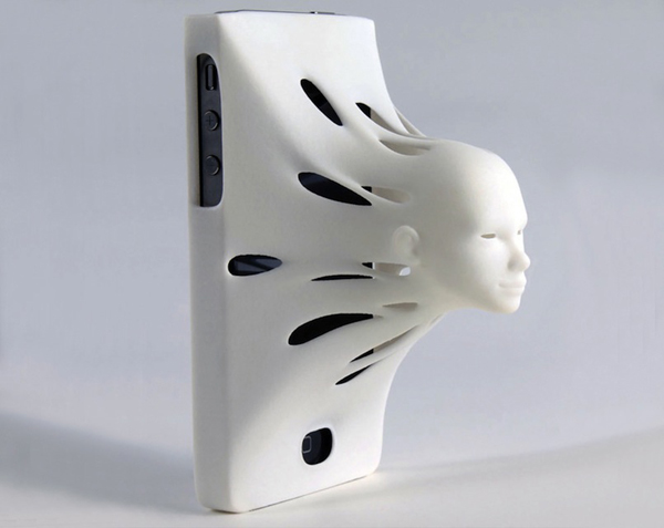 facial potrusion on phone