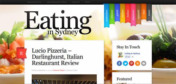 Eating in Sydney