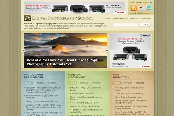 Digital Photography School (DPS)