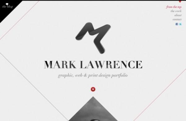 Logo Placement in Portfolio Website