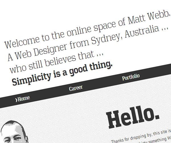 Uniqueness in Web Design