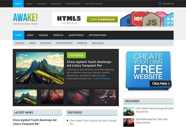 Awake WordPress Theme