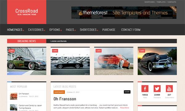 Crossroad WordPress Theme