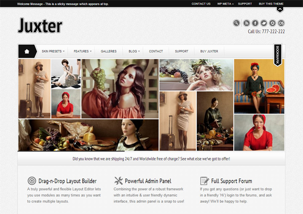 Juxter WordPress Theme