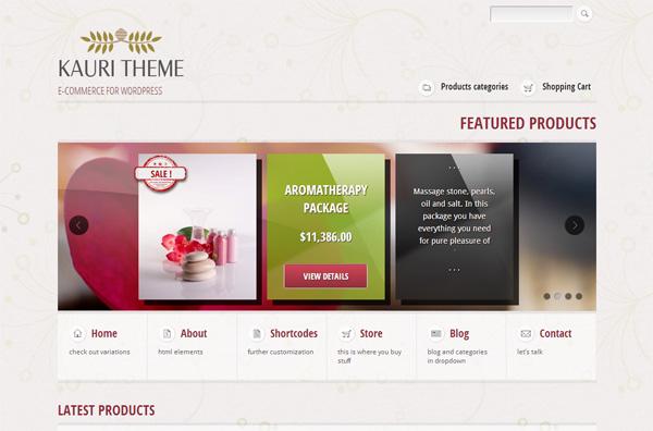 Kauri WordPress Theme