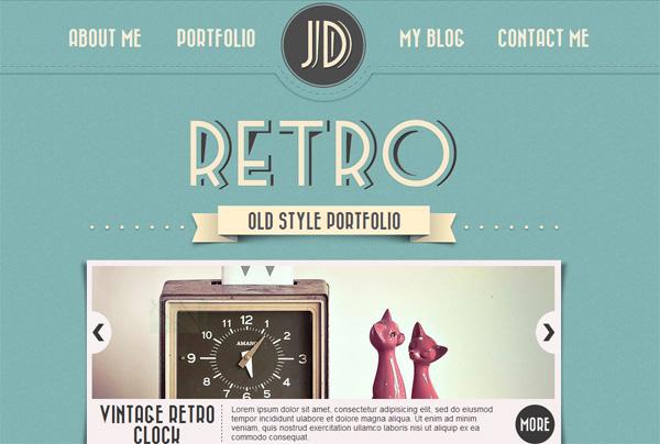 Retro WordPress Theme