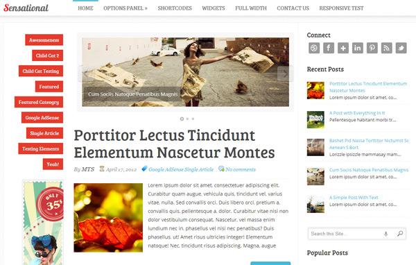 Sensational WordPress Theme