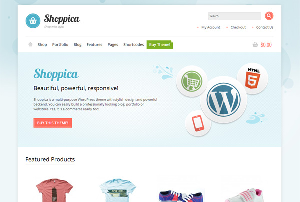 Shoppica WordPress Theme