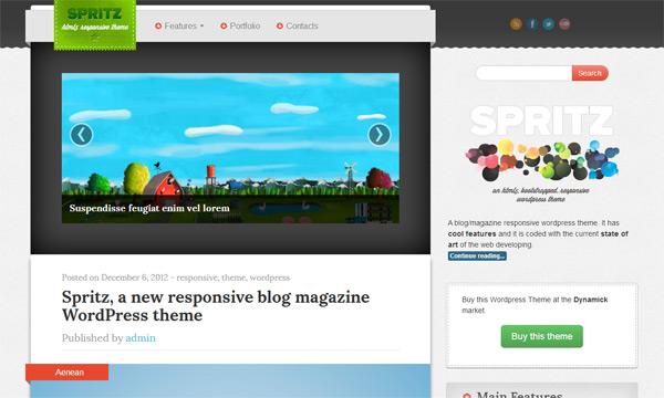 Spritz WordPress Theme