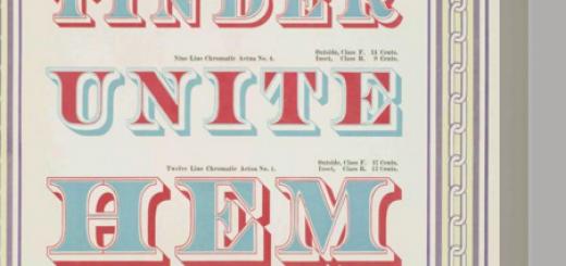 typography sample