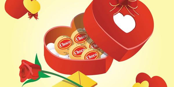 Valentine's Day Chocolate Gift