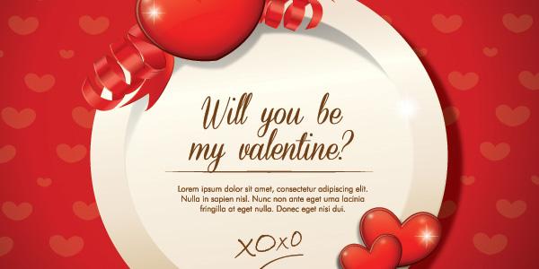Be my Valentine Vector