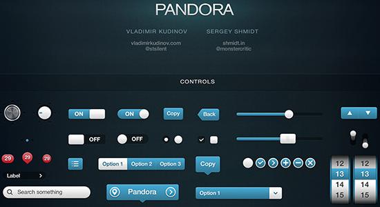 Pandora UI