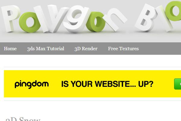 Polygon Blog 3D
