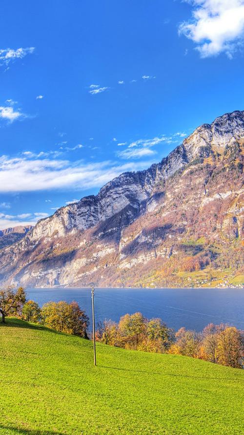 Switzerland Lake Wallpaper