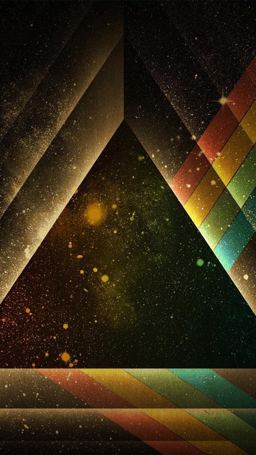 Triangle of light
