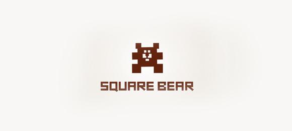 Square Bear Logo