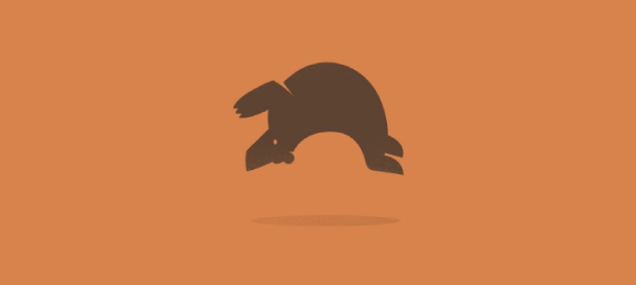 Backflipping Bear Whaaa Logo